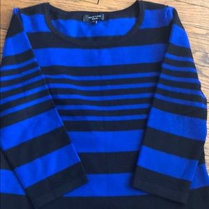Spense Striped Knitted Top NWOT Size Small